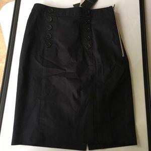 NWT- Ann Taylor dark blue skirt size 4